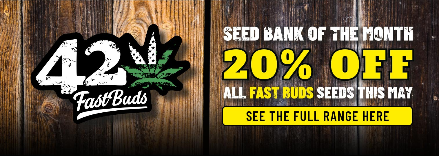 Fast Buds Offer 20% off this May