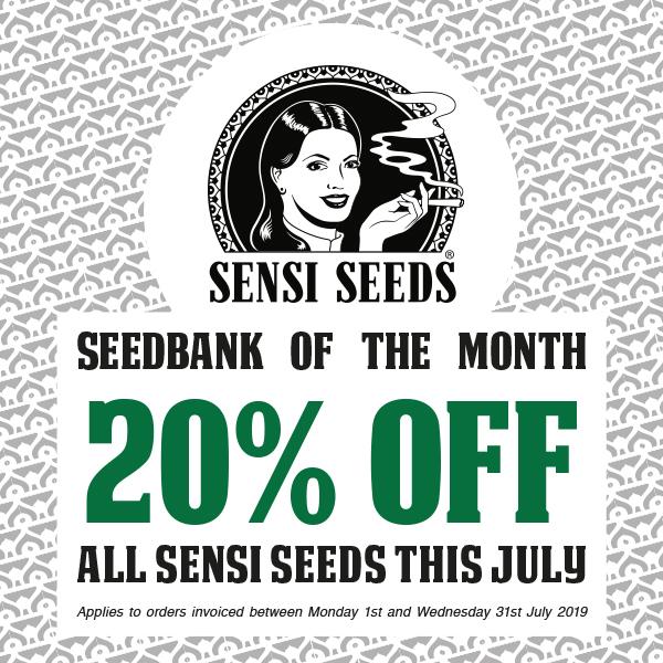 20% off Sensi Seeds